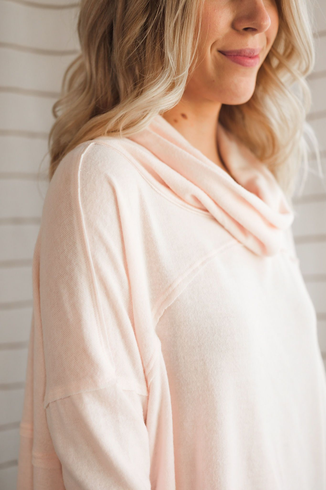 Sweet Spot Cowl Neck Sweater