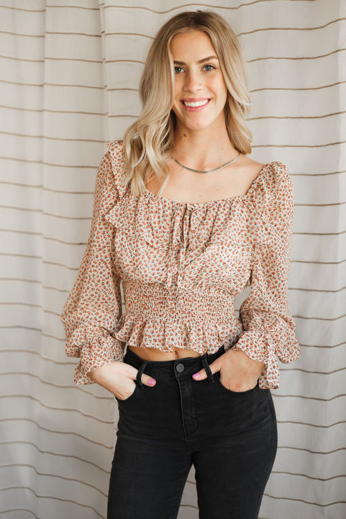Brunch With Paige Blouse