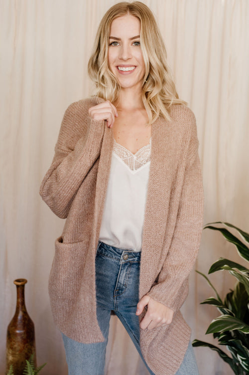 Cafe Au Lait Cardigan