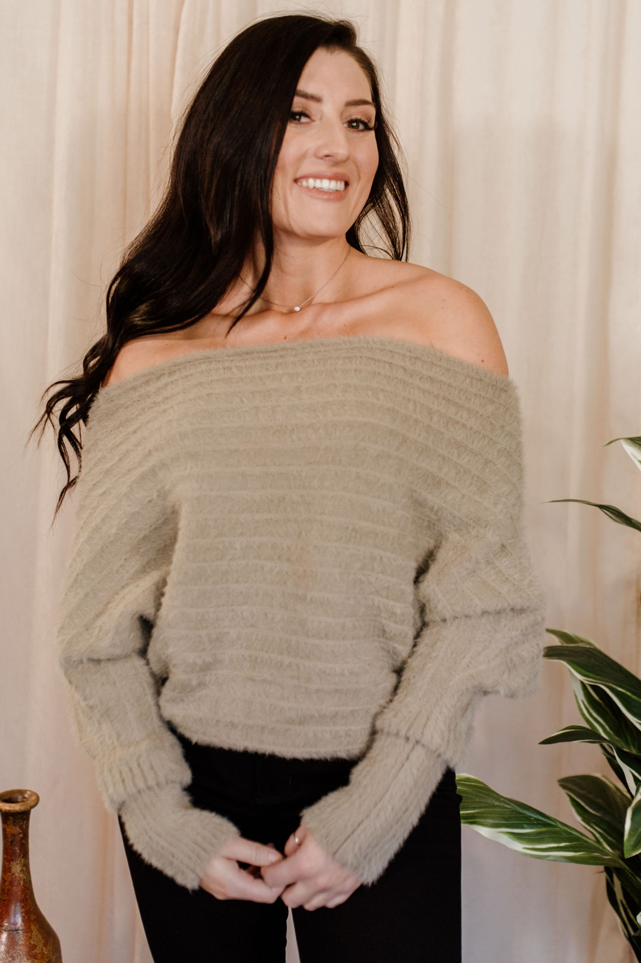 In Perfect Form Sweater