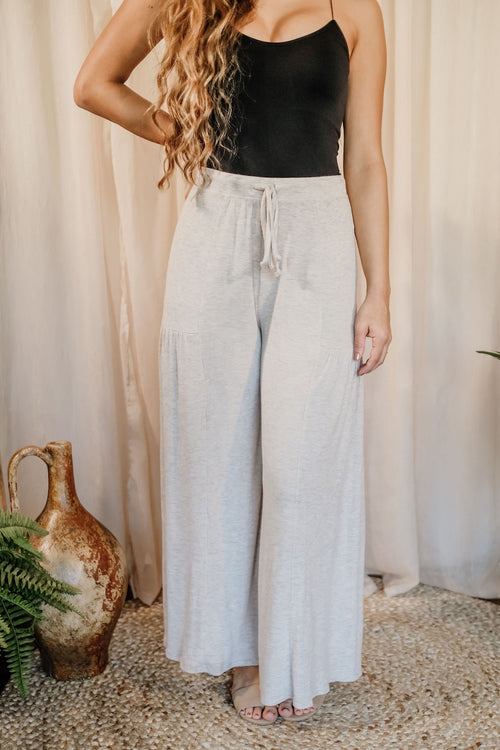 Flirty Flare Fabric Pants