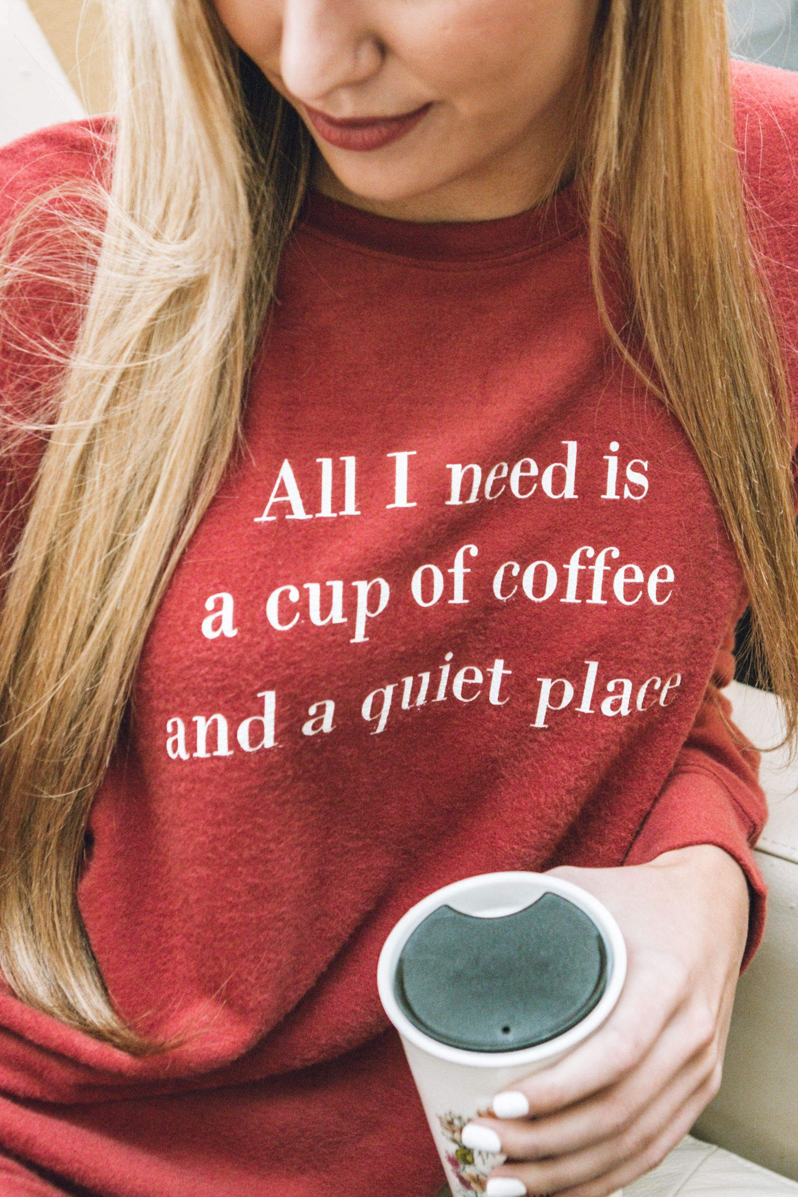 All I Need Is Coffee Sweater