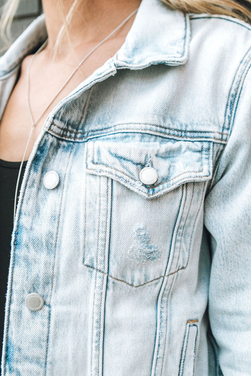 Save Tonight Denim Jacket