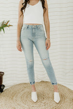 Last Call High Rise Skinny Jeans