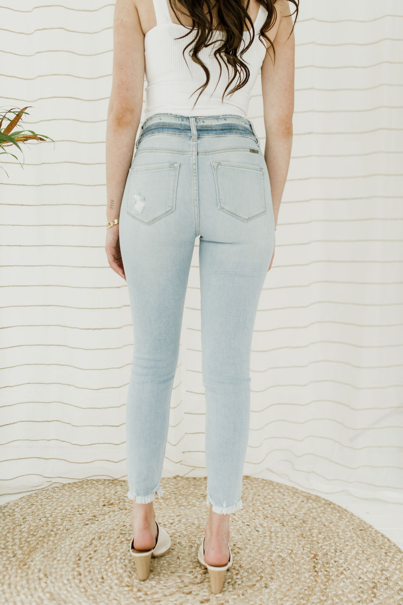The Staple High Rise Skinny Jeans