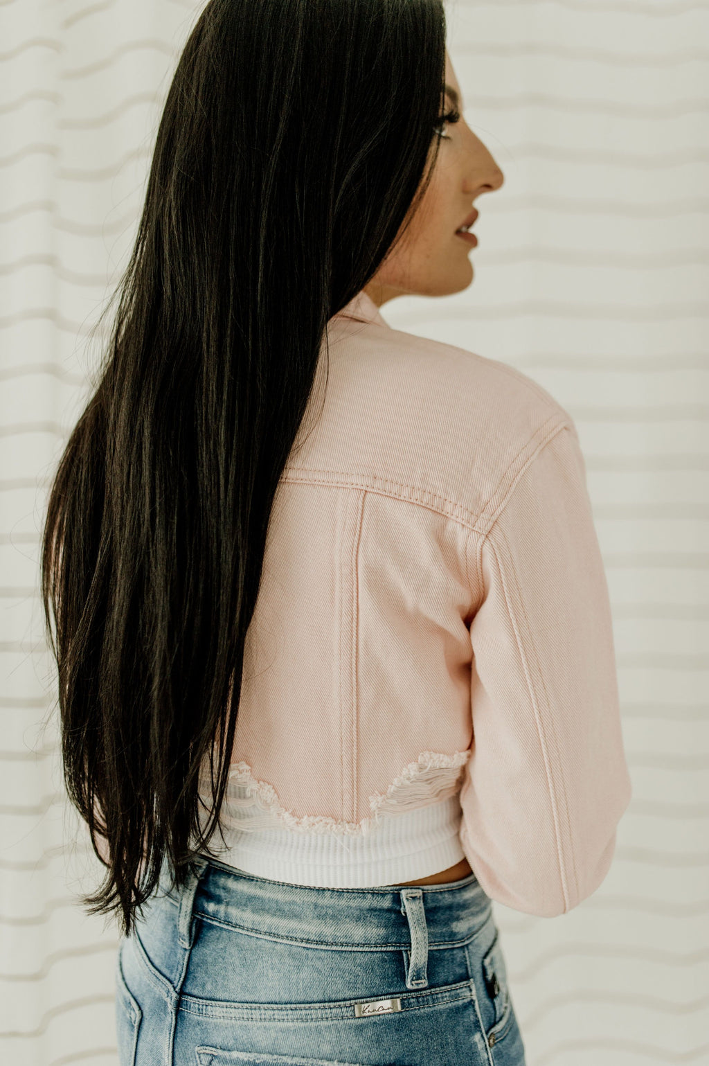 Something Sweet Crop Jacket
