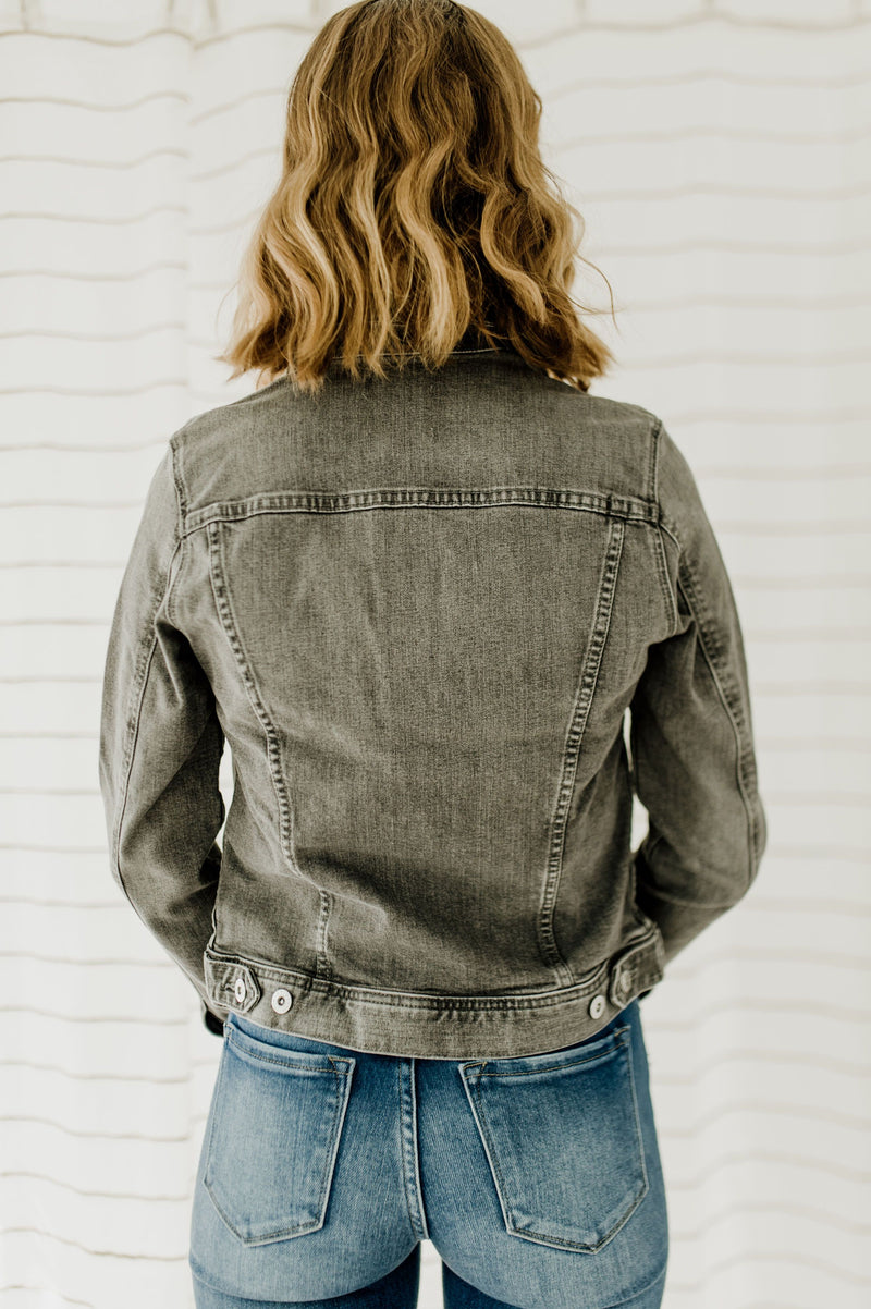 Robyn's Dove Denim Jacket