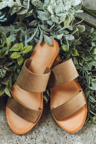 Sliding Into The Week Sandal