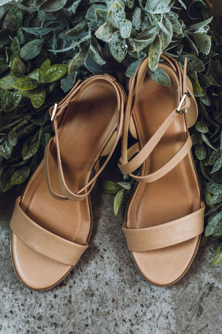 Free To Roam Sandals - Tan