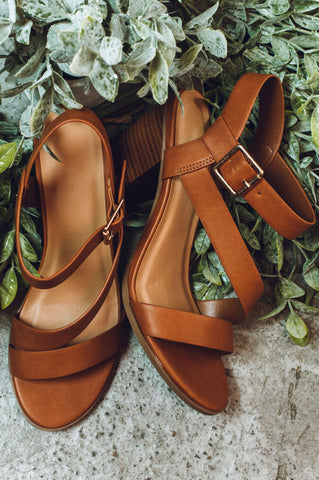 Flirty and Fun Sandal - Tan
