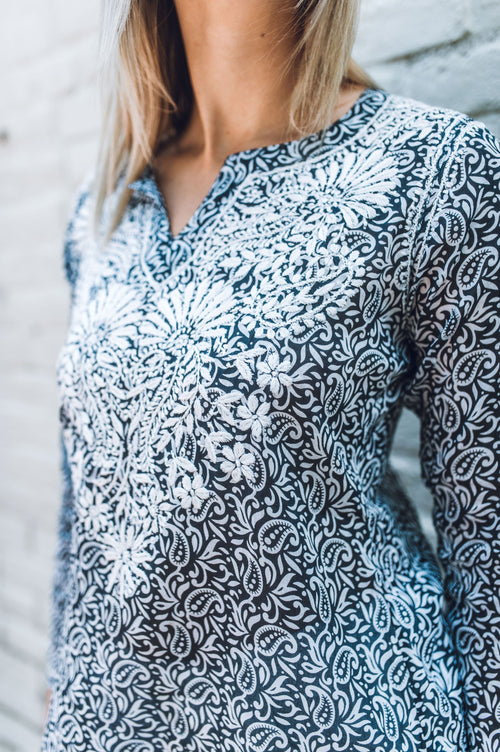 Throw Me A Kiss Tunic