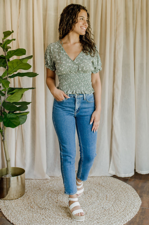Fabulous And Floral Top