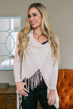Double Love Wrap Cardigan