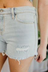 Gemma Midrise Cut Off Shorts