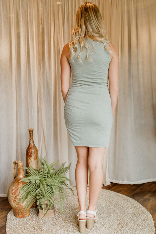 Simply Ruched Dress