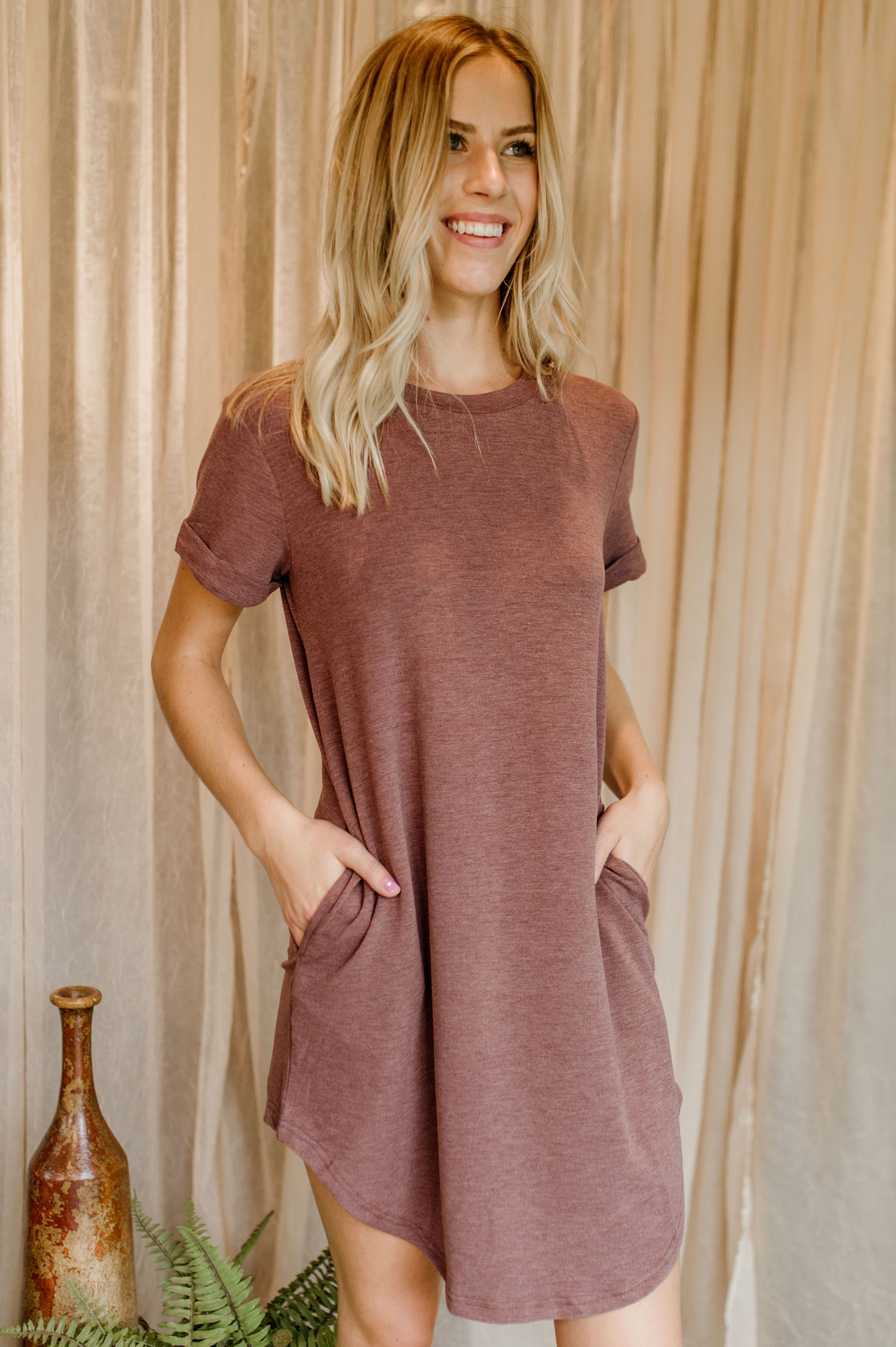 Simply You T-Shirt Dress