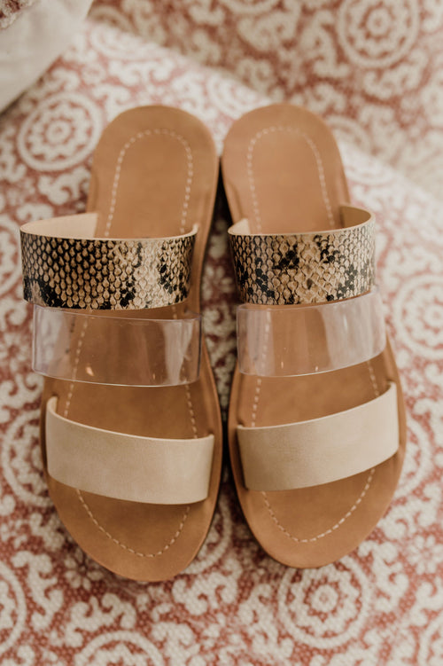 The Emily Triple Strap Sandal
