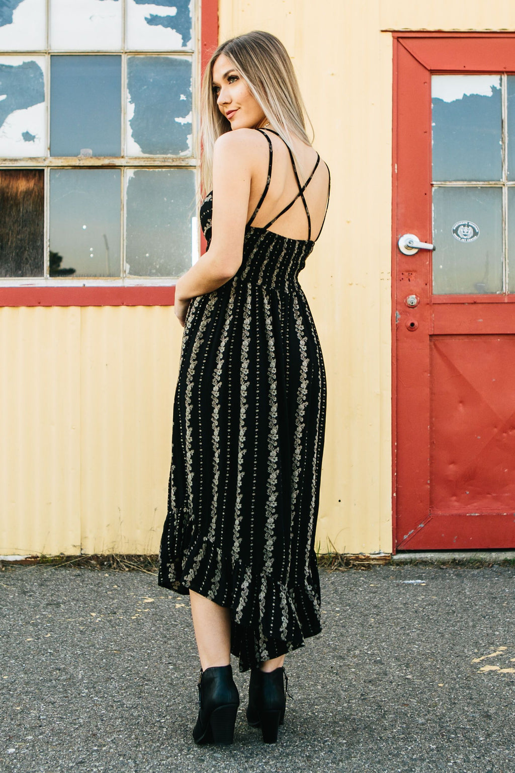 Wall Flower Jumpsuit