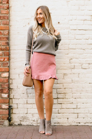 Short & Sweet Mini Skirt