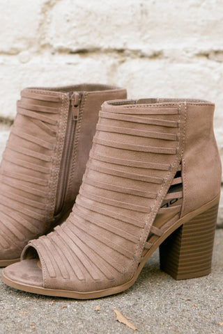 Wild Fields Suede Booties