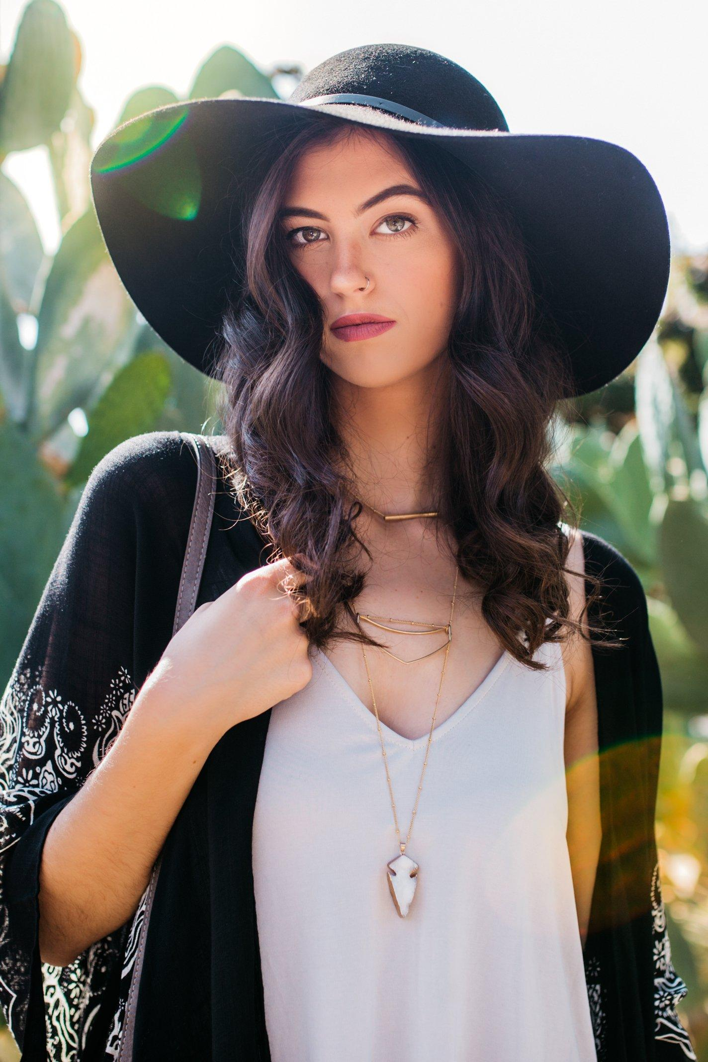 9ec18eeeeff Back in Black Hat- Accessories- Hats- Floppy Hats- Fall Felt Hats ...