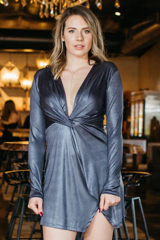 Sweet Dreams Sheer Wrap Dress