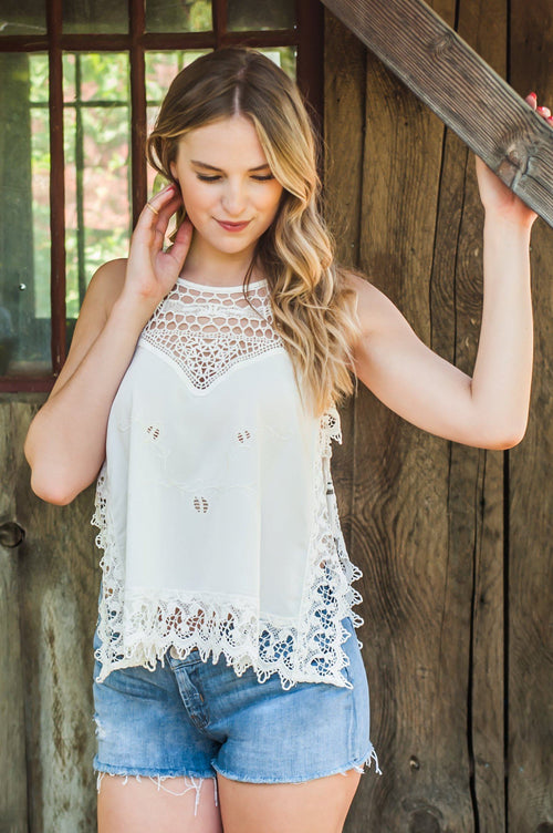Country Romance Top