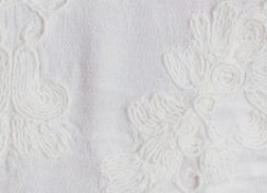 Embroidered Ivory