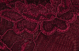 Lace Burgundy