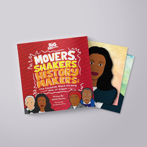 Movers, Shakers, History Makers: The Canadian Black History Book of Rhymes
