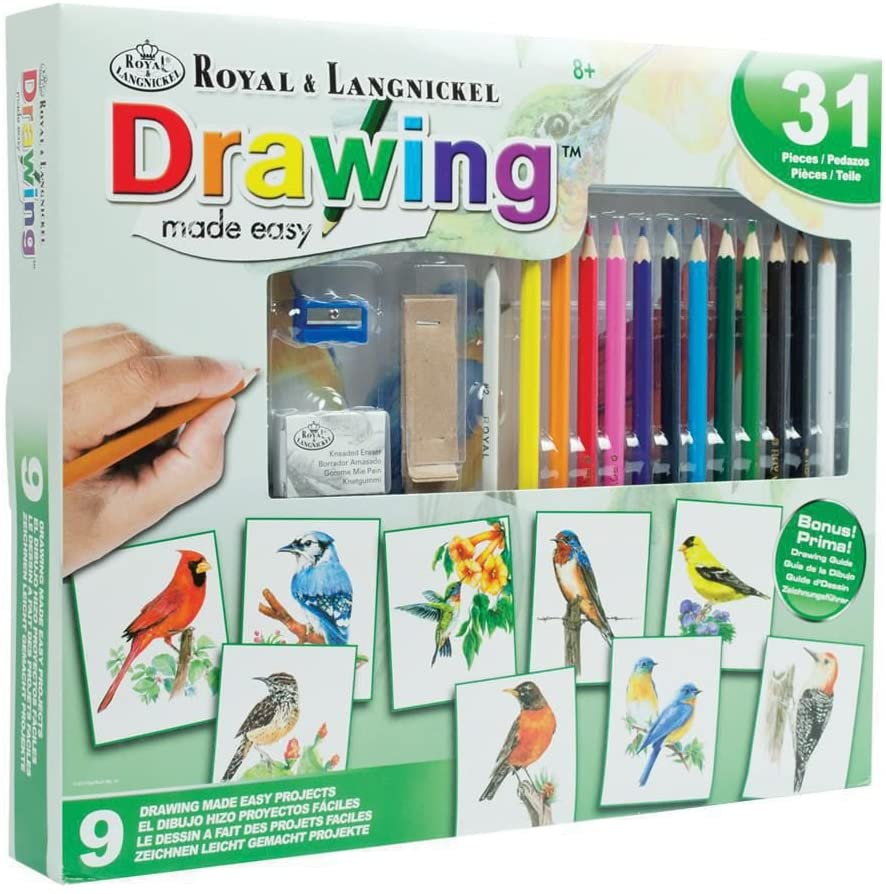 Drawing Made Easy 9  Bird Project Set