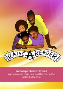Raise A Reader Encourage Children to Read Poster