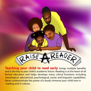Raise A Reader Teaching Your Child To Read Poster