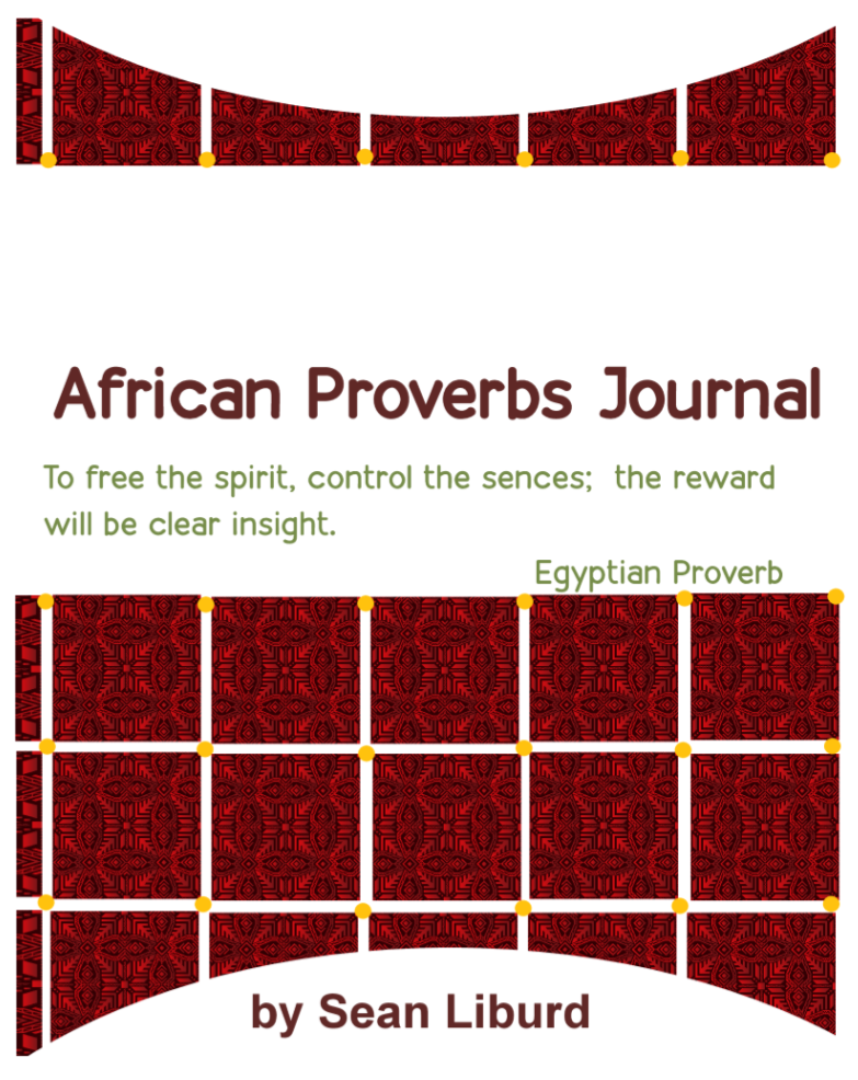 African Proverbs Journal
