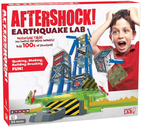Aftershock Earthquake Lab