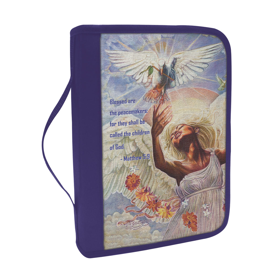 Angel of Peace Bible Cover