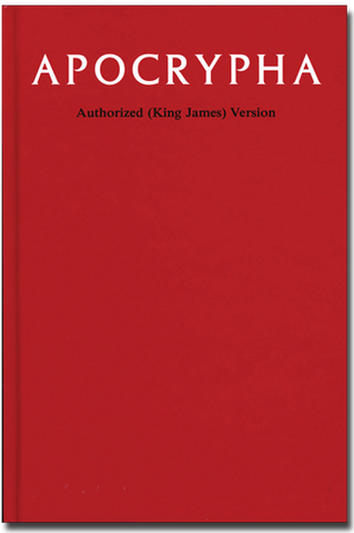 Apocrypha, Authorized King James Version