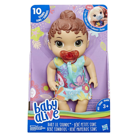 Baby Alive Baby Lil Sounds doll