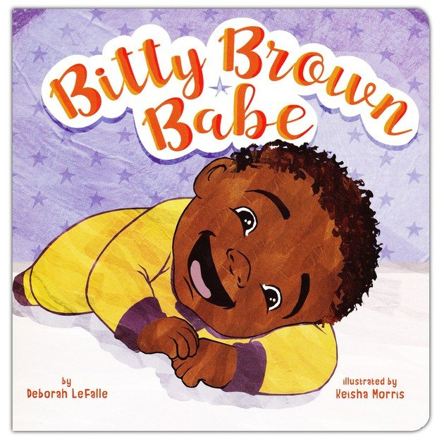 Bitty Brown Babe - Boardbook