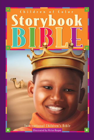 Children of Color Storybook Bible (Boy with crown)