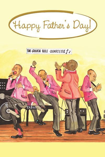 Quartette - Father's Day Card