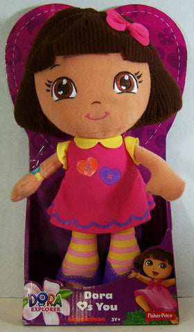 Dora Loves You Doll