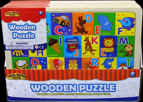 ABC Wooden Alphabet Puzzle