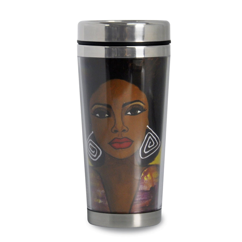 If Your Dream Doesn't Scare You... African American Travel Mug