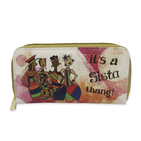 It's a Sista Thang! Long Wallet