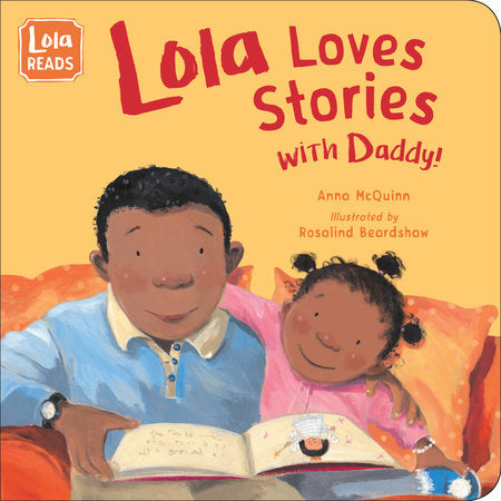 Lola Loves Stories with Daddy - Board book