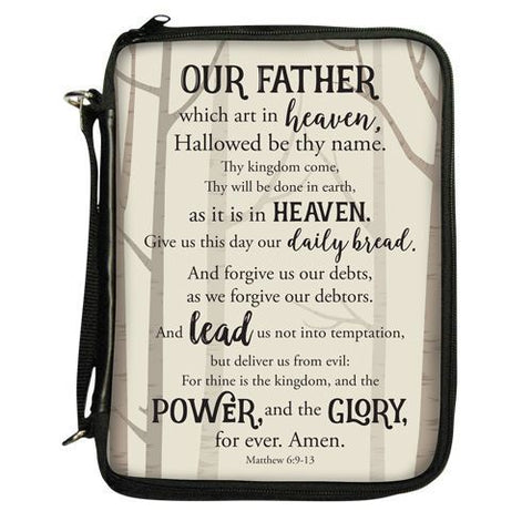 Lords Prayer Bible Cover