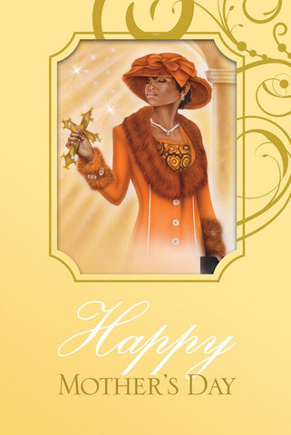 Mother Orange - Mother's Day Card