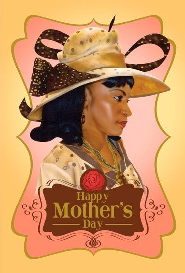 Mother In Beige - Mother's Day Card