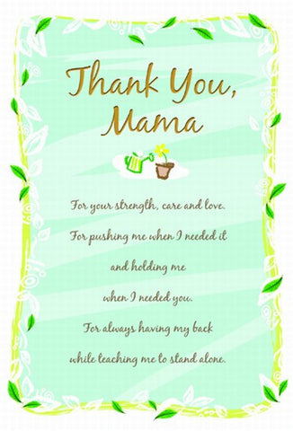 Mama Yellow - Mother's Day Card